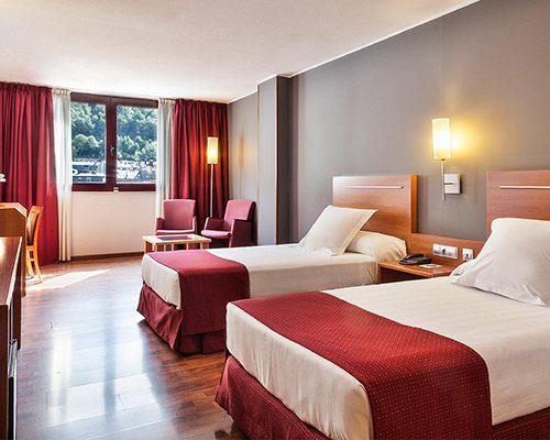 equipamiento para habitacion de un hotel
