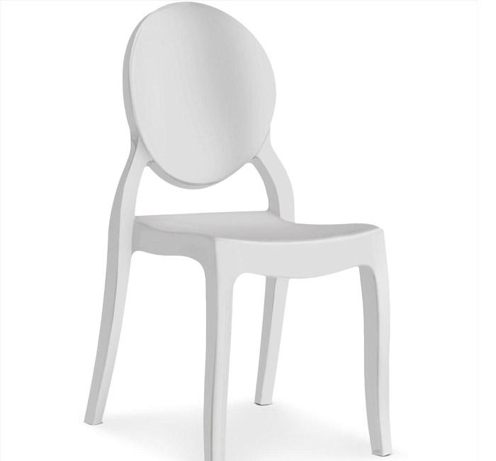 silla ghost para banquetes
