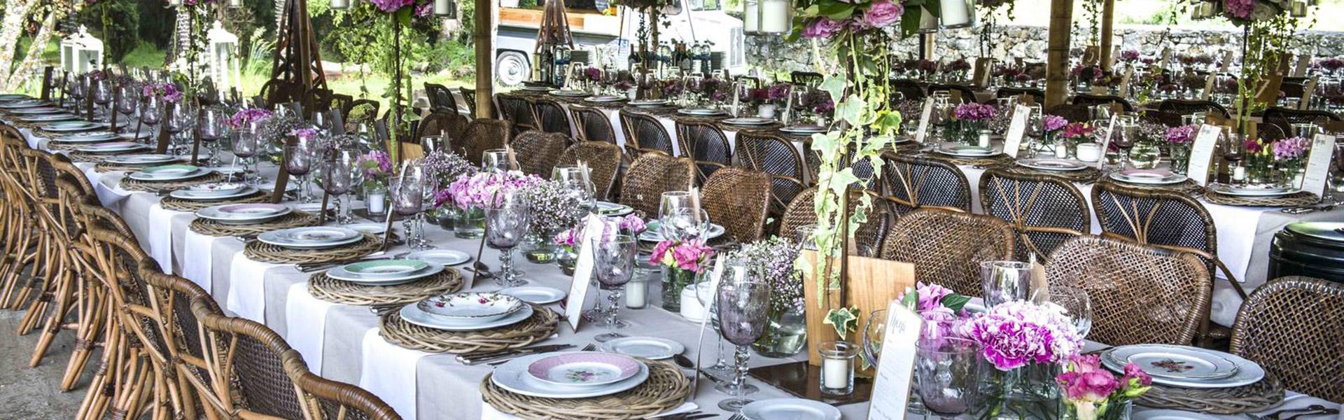 sillas para banquetes