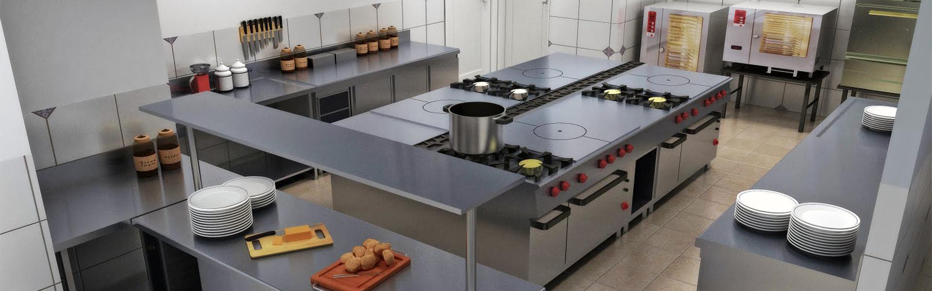 Equipo menor de cocina
